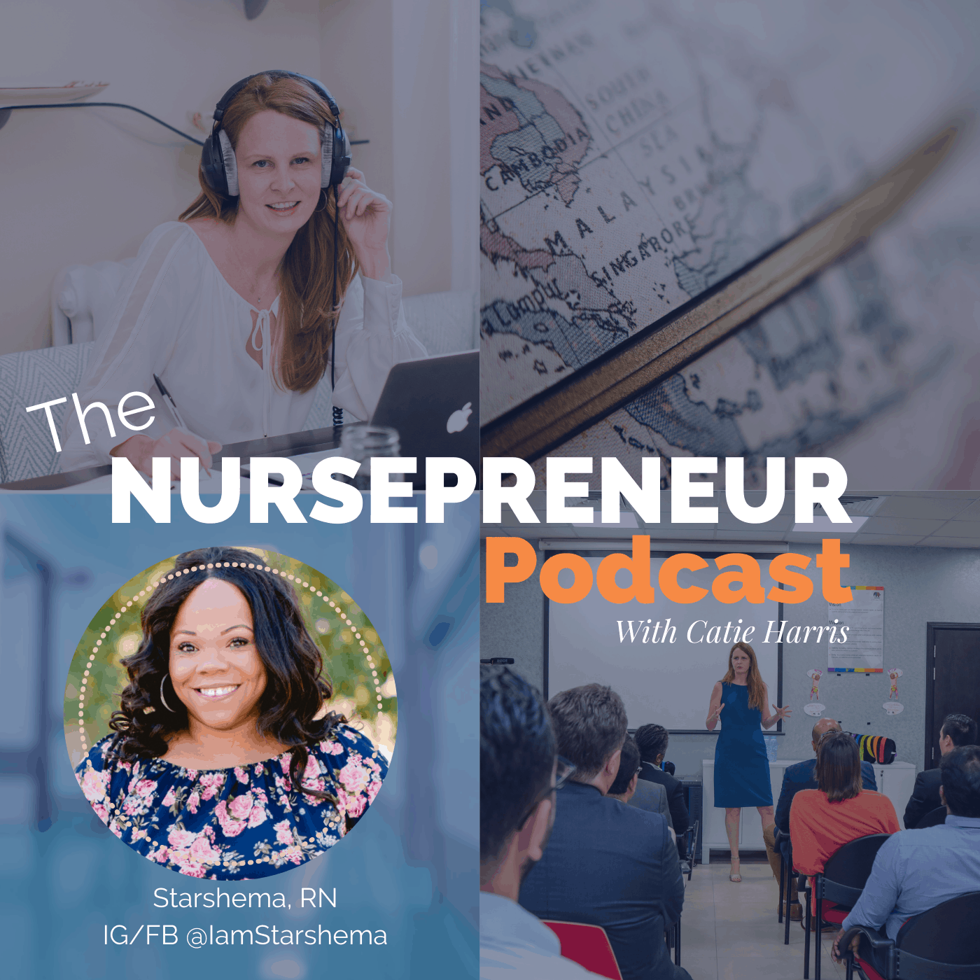 I Am Starshema NursePreneur Podcast