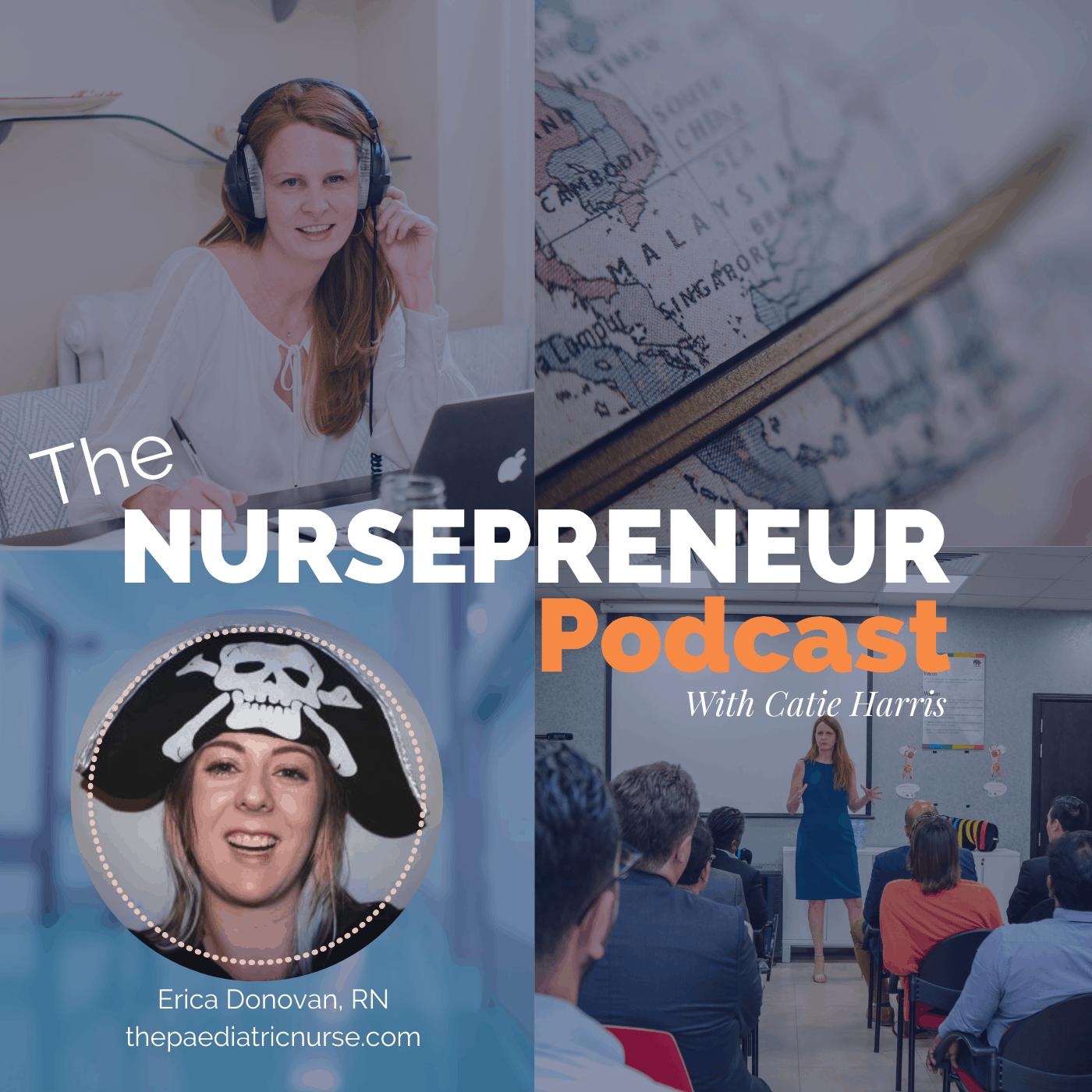 The Paediatric Nurse NursePreneur Podcast