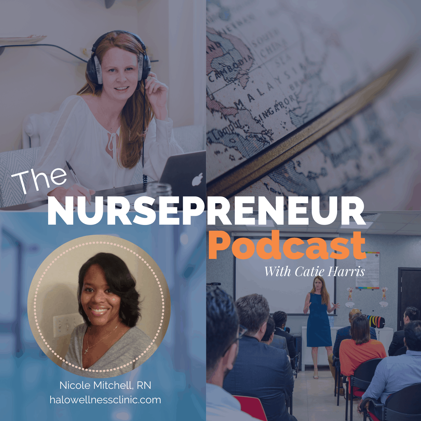 Now Halo Wellness Clinic NursePreneur Podcast